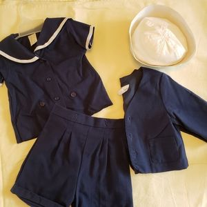 Baby sailor outfit
